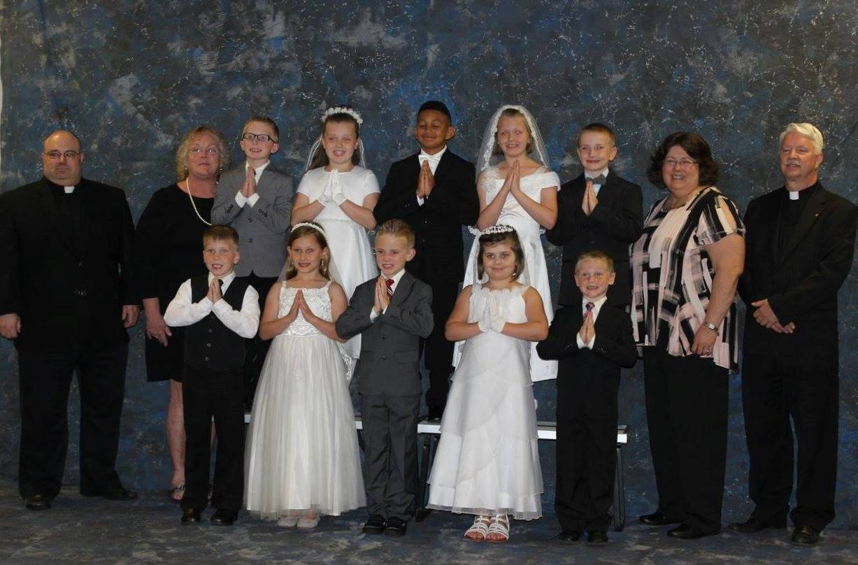 First Communion Saint Timothy Group